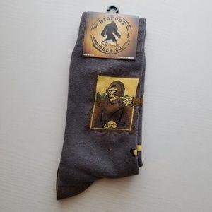 Bigfoot as Mona Lisa Socks
